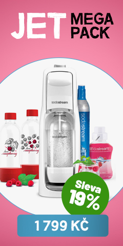 Jet MegaPack Love Raspberry SODASTREAM
