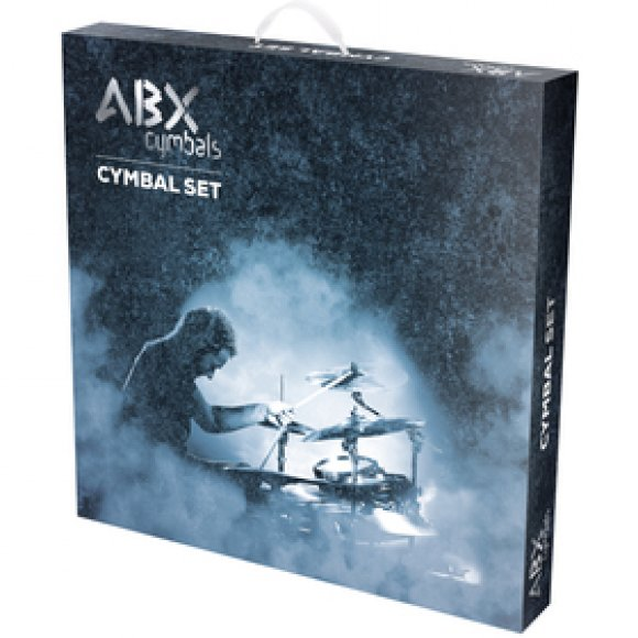 ABX 1318 CS set 13 hihat, 18 crash ABX
