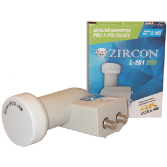L201 ECO TWIN LNB ZIRCON