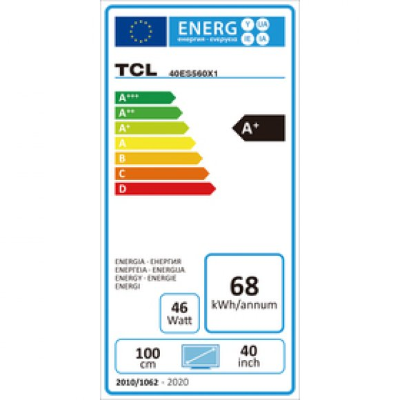 40ES560 ANDROID SMART LED TCL