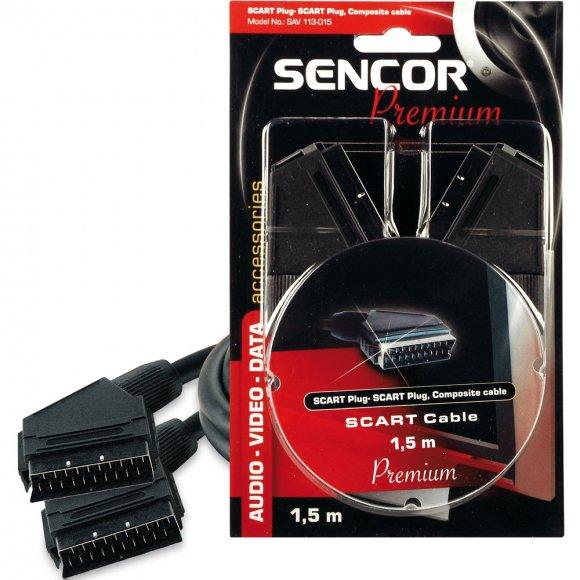 SAV 113-008 SCART M-SCART M 21P P SENCOR