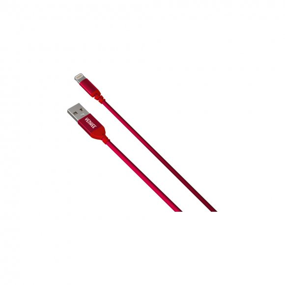 YCU 611 RD USB / lightning 1m YENKEE