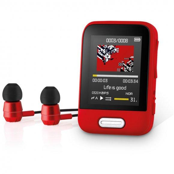 SFP 7716 RD 16GB MP3/MP4 PLAYER SENCOR