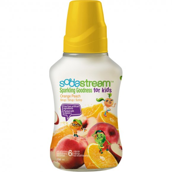 SodaStream Příchuť Orange Peach Goodness-Kids 750ml