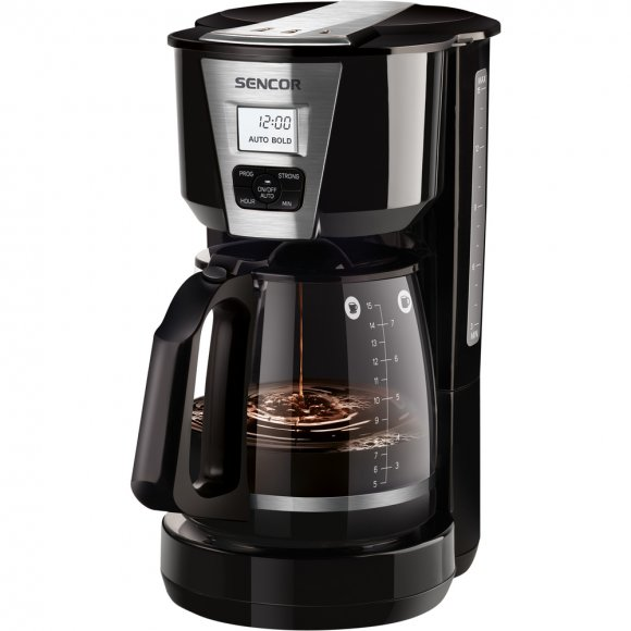 SCE 5070BK kávovar SENCOR