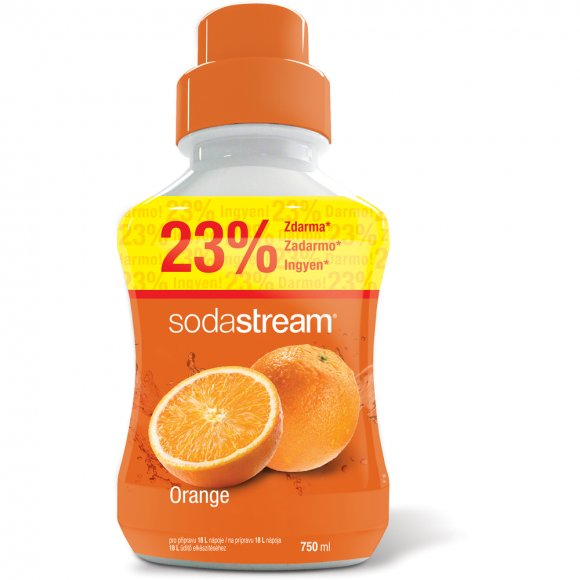 SODASTREAM Příchuť Orange 750 ml