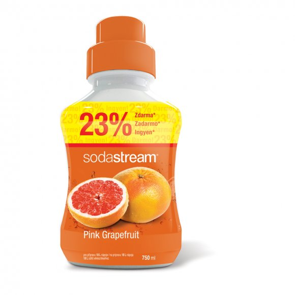 SODASTREAM Příchuť Pink Grapefruit 750ml