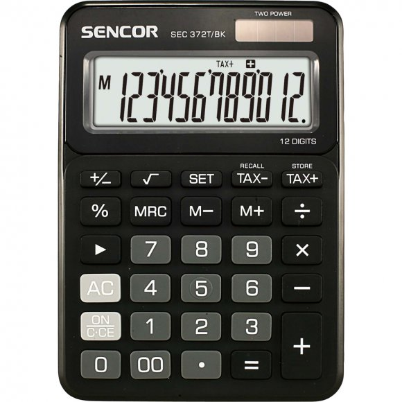 SEC 372T/BK černá SENCOR