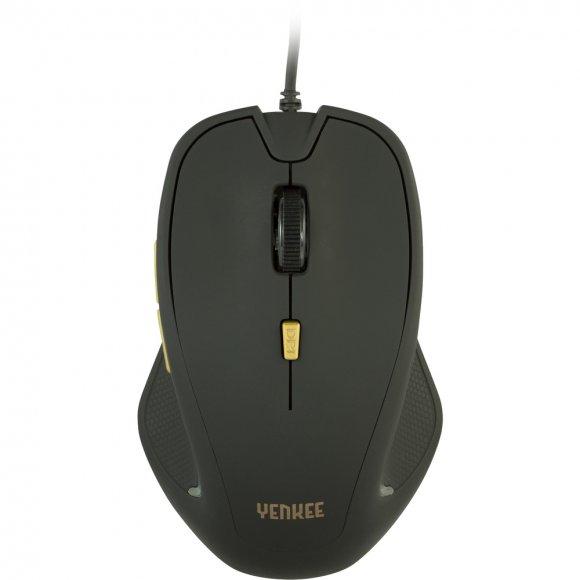 YMS 1010BK Myš USB Dakar Black YENKEE
