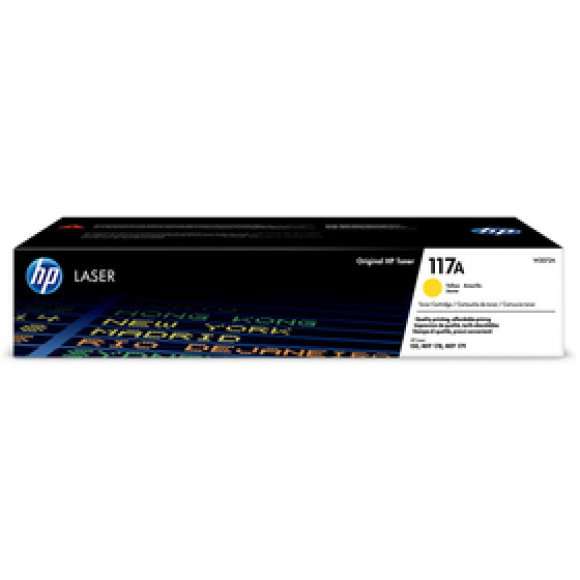 W2072A TONER YELLOW MFP178NW 117A HP