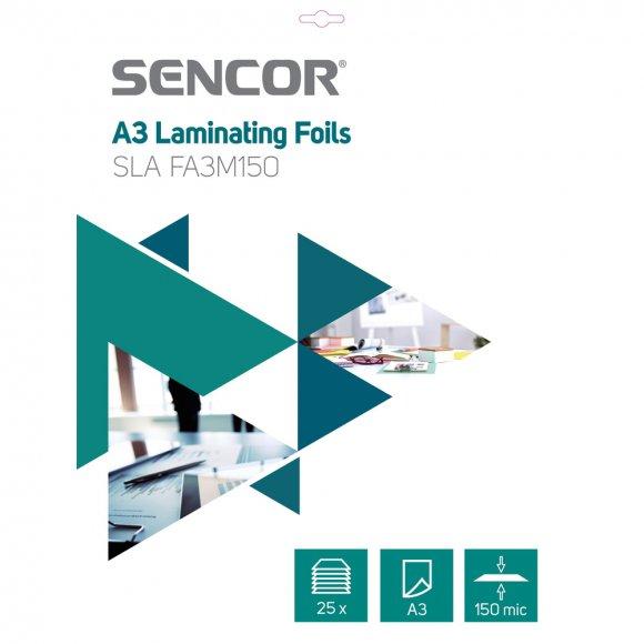 SLA FA3M150 Fólie A3 150mic 25ks SENCOR