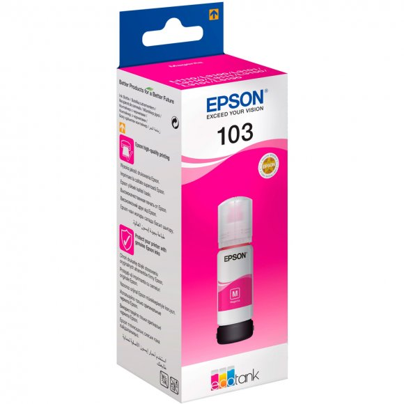 C13T00S34A ink pro L3151 Mag 65ml EPSON