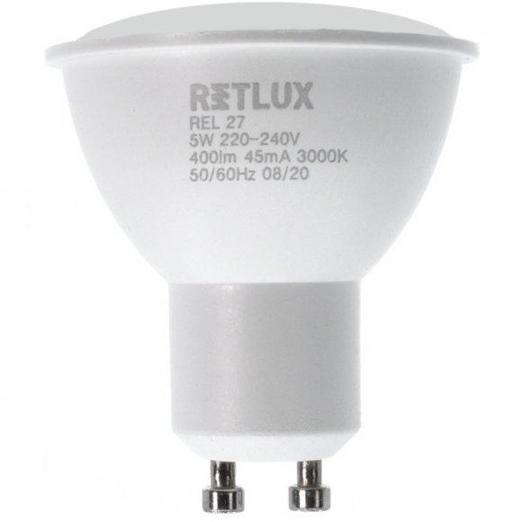 REL 27 LED GU10 4x5W RETLUX