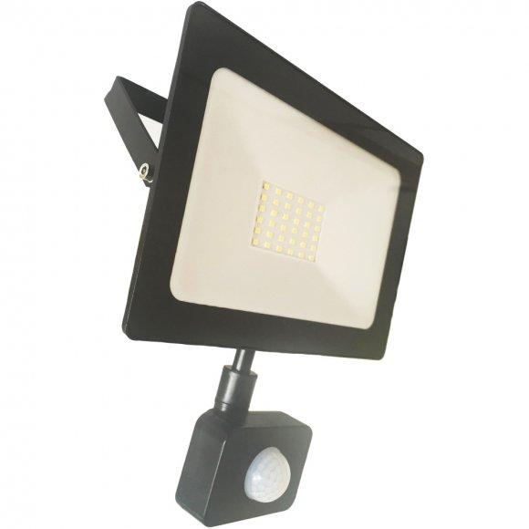 RSL 247 LED refl. 30W 4000K PIR RETLUX