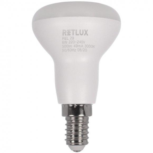 REL 29 LED R50 4x6W E14 WW RETLUX