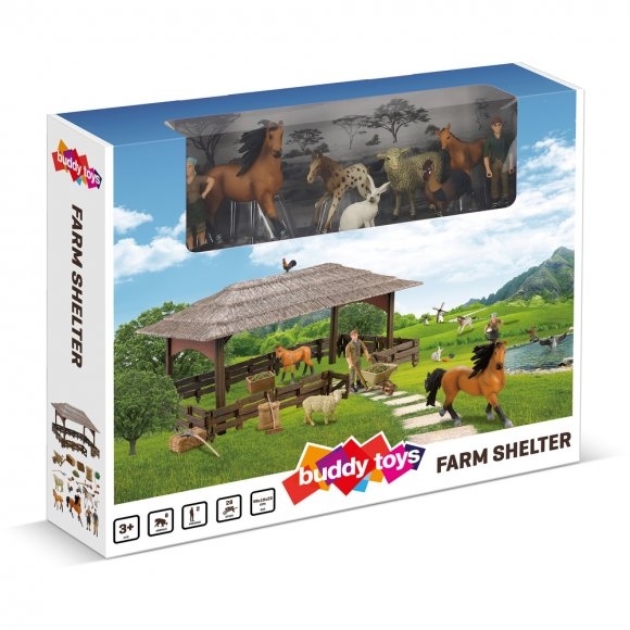 BGA 1021 Farma - přístřešek BUDDY TOYS