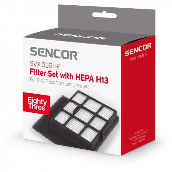 SVX 039HF sada filtrů pro SVC 83x SENCOR